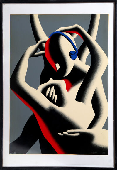 Mark Kostabi, 'Love in Stereo', 1991