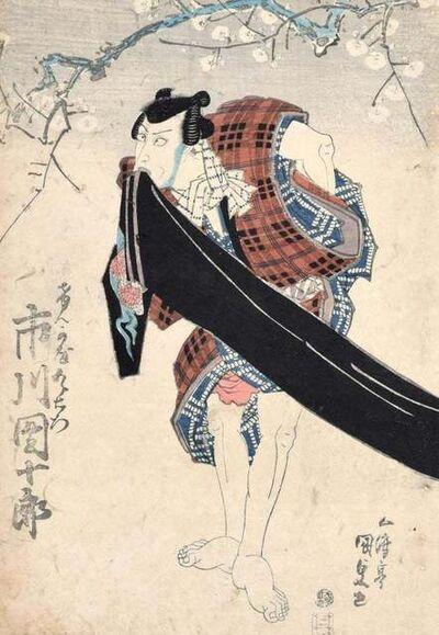 Utagawa Kunisada, 'Kabuki Actor', ca. 1830