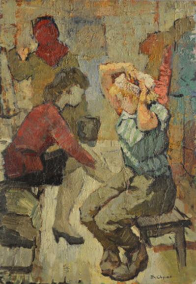 Vladimir Frolovich Stroev, 'Sketch', 1970