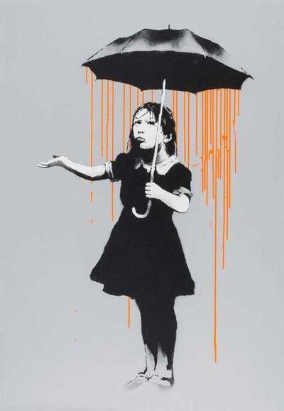 Banksy, 'Nola, Dark Orange to Orange Rain, Signed', 2008
