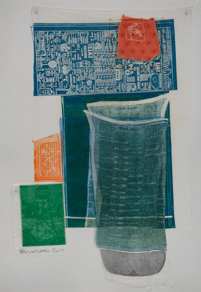 Robert Rauschenberg, 'Platter from Airport Series', 1974