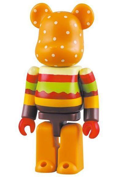 BE@RBRICK, 'Hamburger 400% (Gettry Anniversary)', 2009