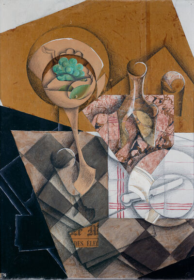 Juan Gris, 'The fruit bowl', 1914