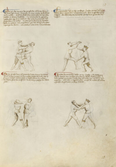 Fiore Furlan dei Liberi da Premariacco, 'Unarmed Combat', 1410