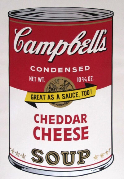 Andy Warhol, 'Campbell's Soup II:  Cheddar Cheese [II.63]', 1969