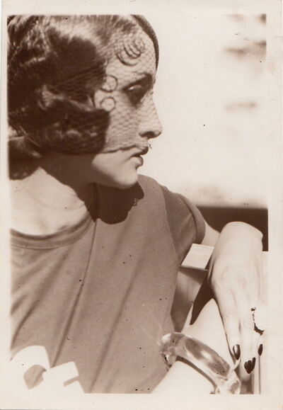 Jacques Henri Lartigue, 'Profil a la Voilette', ca. 1931