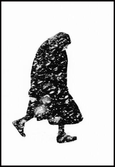 Thomas Hoepker, 'Woman in the Snow, Hamburg, Germany', 1954