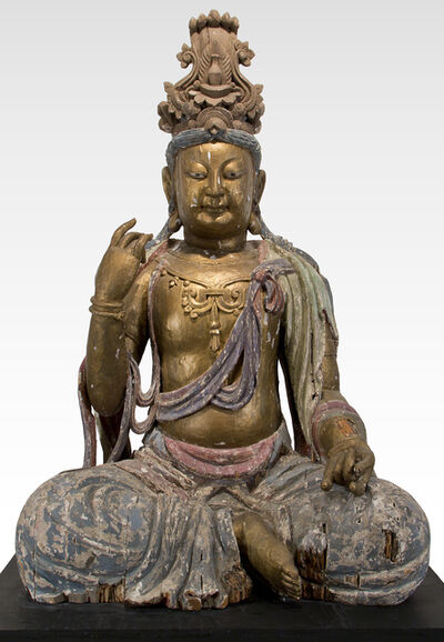 Unknown, 'Figure of Maitreya, China, Ming Dynasty (1368-1644)', Ming Dynasty (1368-1644)