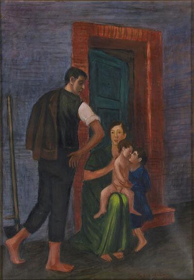 Gisberto Ceracchini, 'The family', 1955