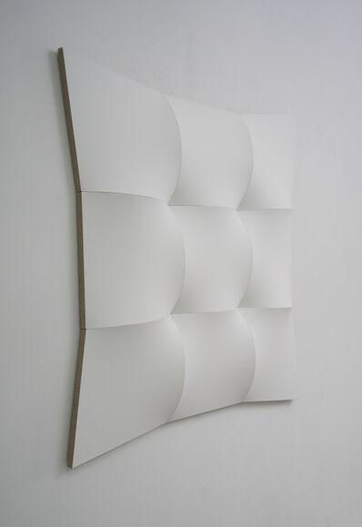 Jan Maarten Voskuil, 'Nine White Squared Circles II', 2018