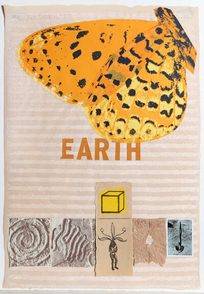 Joe Tilson, 'Earth (With Butterfly)', 1971