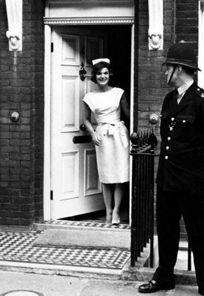 Harry Benson, 'Jackie in London (In the Doorway)', 1961