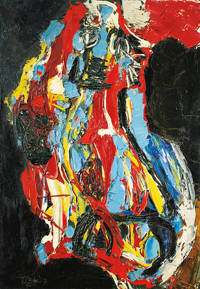 Karel Appel, 'Nu Abstrait', 1957