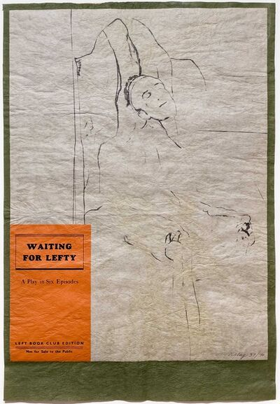 R. B. Kitaj, 'Waiting for Lefty', 1974