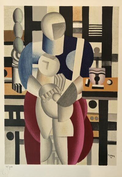 Fernand Léger, 'Woman and Child (La femme et l'enfant)', 1955