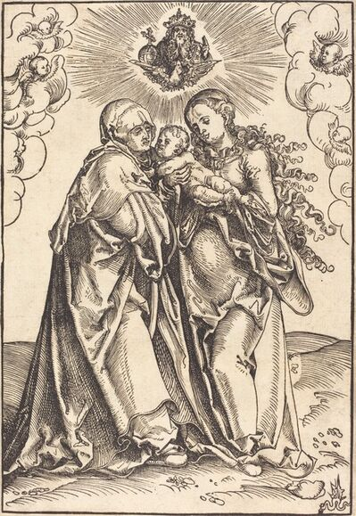Lucas Cranach the Elder, 'Saint Anne and the Virgin with the Child'