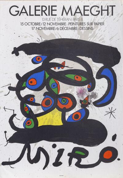 Joan Miró, 'Galerie Maeght', 1971