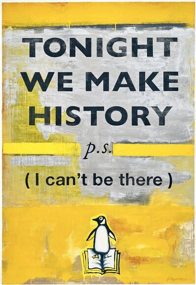 Damien Hirst, 'Tonight We Make History', 2018