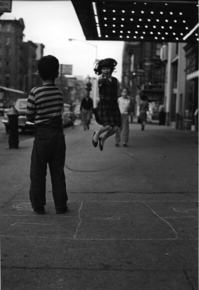 Jan Yoors, 'Untitled (Girl Jumping Rope on 14th Street)', 1961