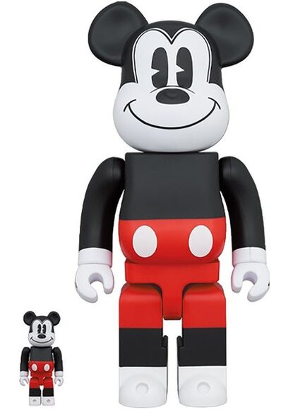 BE@RBRICK, 'BE@RBRICK x Mickey Mouse 2020 (400% and 100%)', 2020