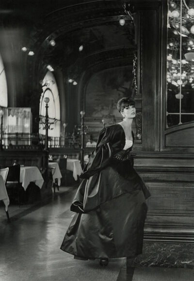 Louis Faurer, 'Model wearing Jules Francois Crahay for Nina Ricci'