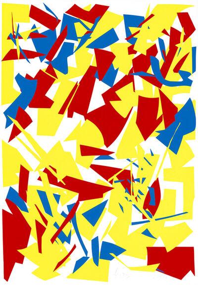 Imi Knoebel, 'Messerschnitte (Knife Cuts)', 1933-1977
