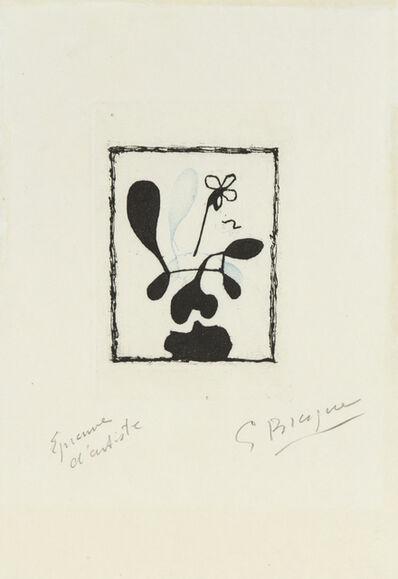 Georges Braque, 'La Bonne Heure', 1955