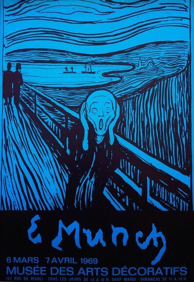 Edvard Munch, 'Musée des Arts Décoratifs (The Scream)', 1969