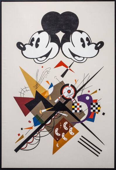 Alexander Kosolapov, 'Mickey Kandinsky', 2015