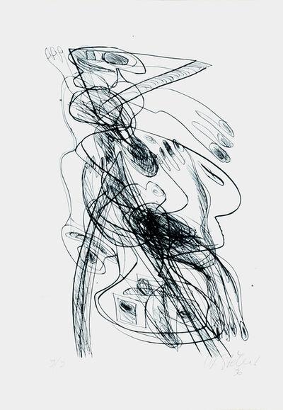 Walter Stöhrer, 'Wir Sind Des Puppenmeisters Kinder 17', 1996