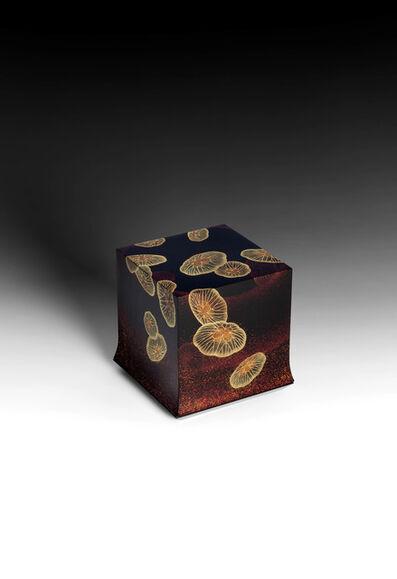 "Yoshio Okada, '""Floating"" Box with Sprinkled Design of Jellyfish (T-4486)', 2020"
