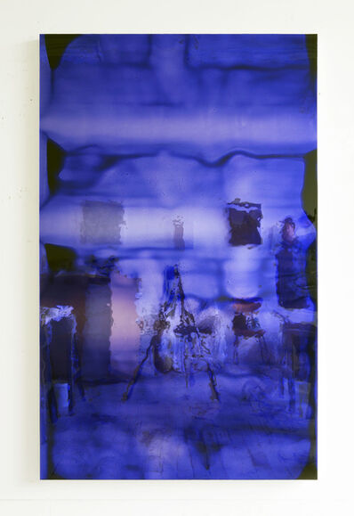 Carrie Yamaoka, '72 by 45 (deep blue #2)', 2011