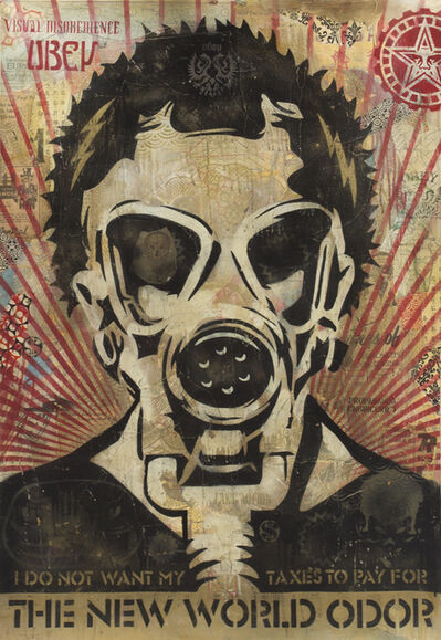 Shepard Fairey (OBEY), 'New World Odor', 2005