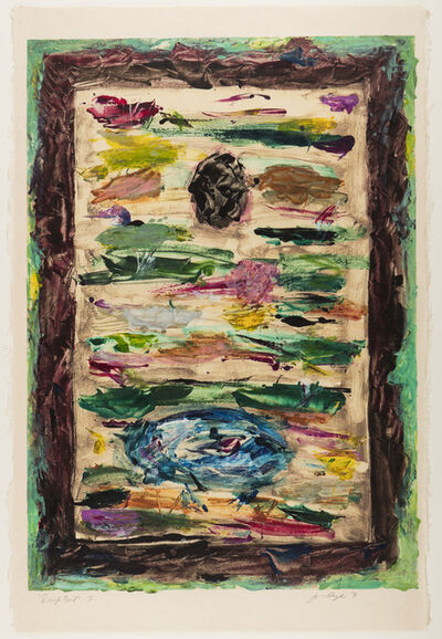 Joan Snyder, 'Rough Pond I', 1991