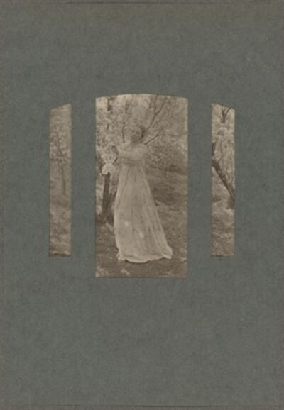 Clarence H. White, 'Spring', 1899