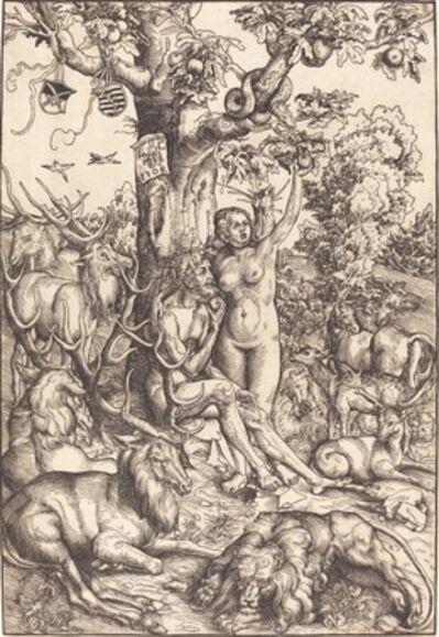Lucas Cranach the Elder, 'Adam and Eve in Paradise', 1509