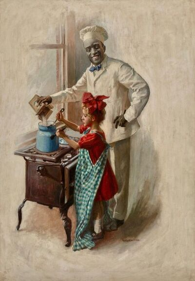 William Cahill, 'The Cooking Lesson, Cream of Wheat advertisement, 1910', 1910