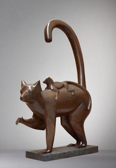 Daniel Daviau, 'Lemur and Its Child', 2001