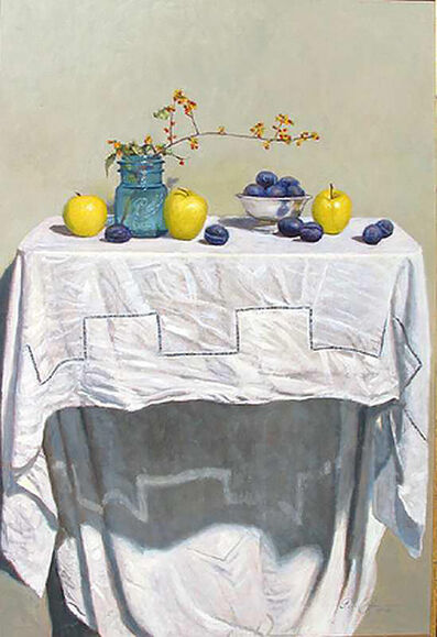 Eric Forstmann, 'Still Life with Apples and Plums', 2004