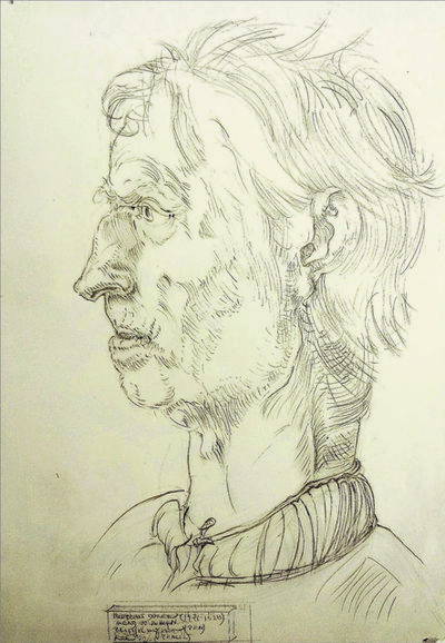 Alfred R Kelman, 'After Albrecht Dürer (1471-1528) - Head of a Man', 1992