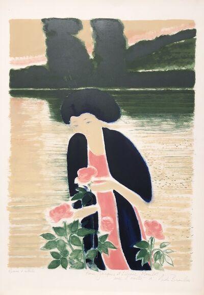Andre Brasilier, 'Les Roses de l'Etang', 1976