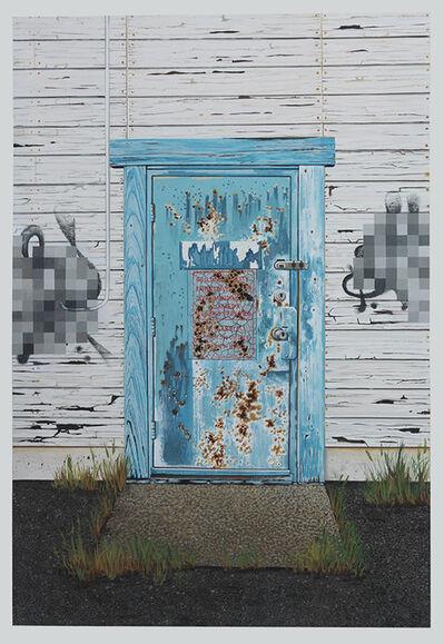 Jessica Hess, 'Alameda Door I', 2020