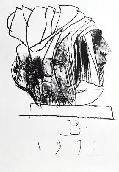 Leonard Baskin, 'Leader', 1971