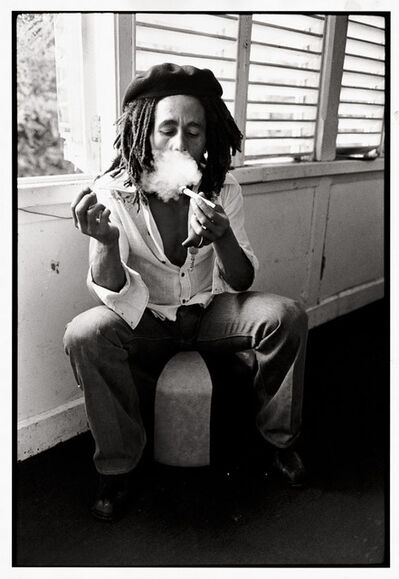 David Burnett, 'Bob Marley Interview Session: Tuff Gong, Kingston #3', 1976