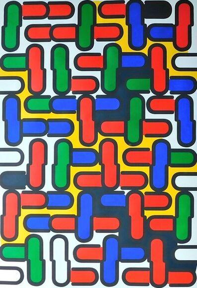Tepeu Choc, 'Font Technic Bold', 2016