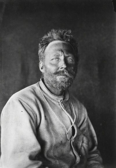 Herbert George Ponting, 'C H Meares, Scott Polar Expedition, Antarctica, January', 1912