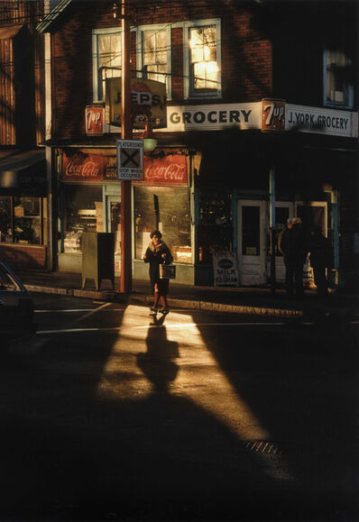 Fred Herzog, 'Crossing Powell 2', 1984
