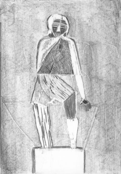 Dirk Zoete, 'Carved statue 1', 2015