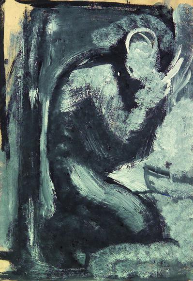 Mario Sironi, 'Figure', ca. 1945