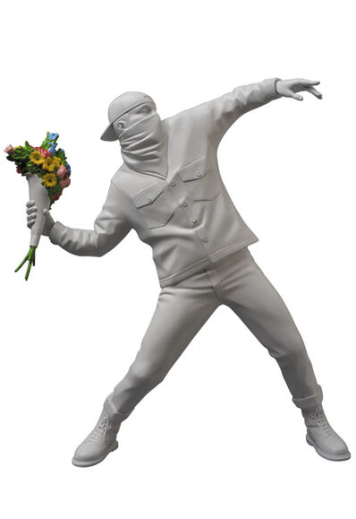 Banksy, 'Flower Bomber (Medicom x Brandalism x SYNC Japan, inspired by Banksy)', 2016